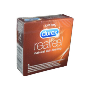 prezervative DUREX Real Feel 3