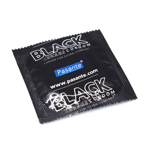 prezervative pasante black velvet